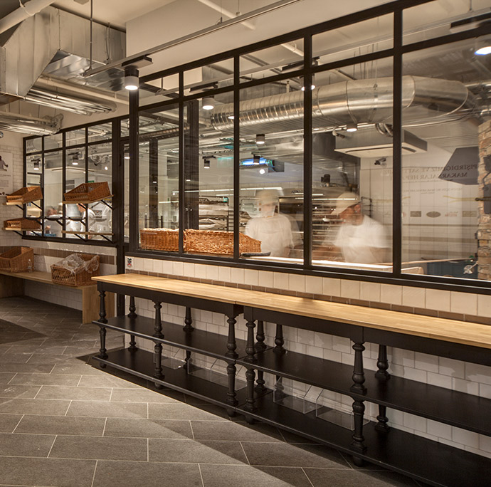 Show kitchen Eataly Zorlu Center Italian foods luxury fit out Istanbul
