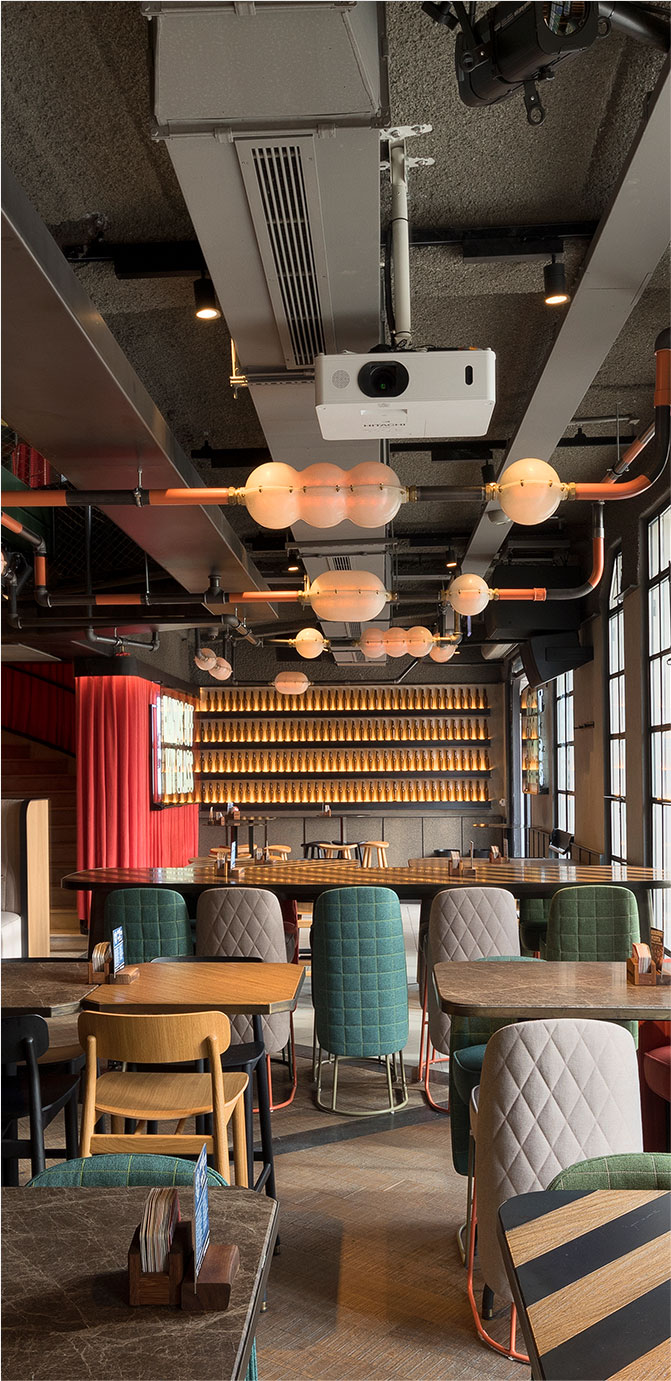 The Populist high end restaurant and bar fit out Turkey