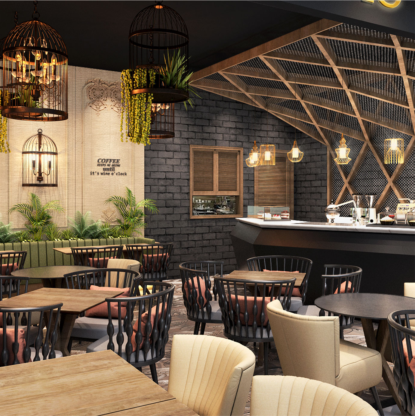 Life with cacao luxury cafe design and general contract Saudi Arabia Turkey Kuwait