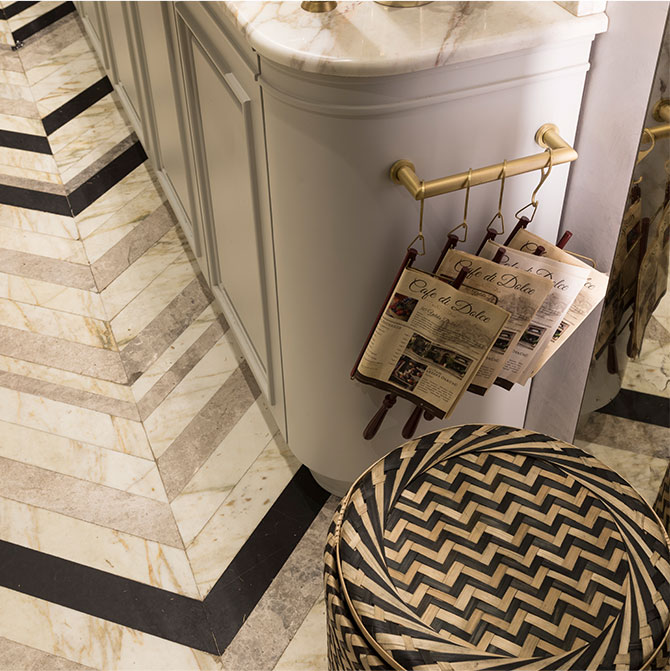 cafe di dolce marble texture luxury restaurant design
