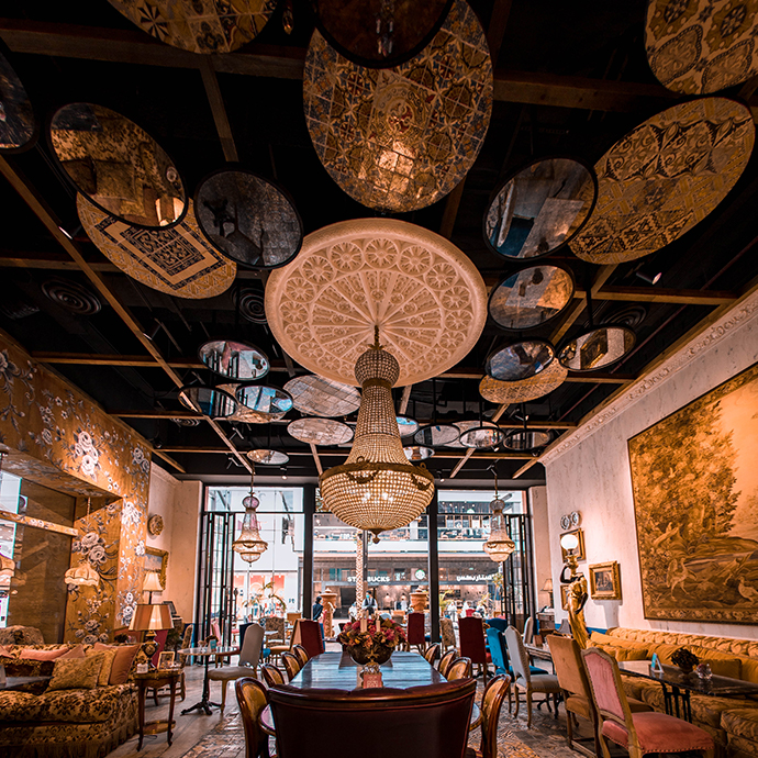 FLowe Latte The Avenues traditional and modern restaurant cafe coffeeshop design