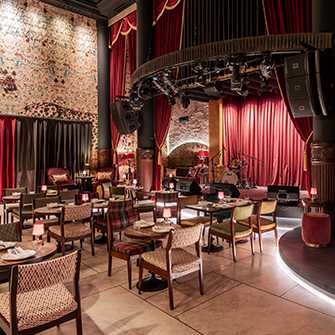Salon Angie high-end nightclub design fit-out Project Turkey